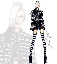 gwen stefani illustration - Buscar con Google