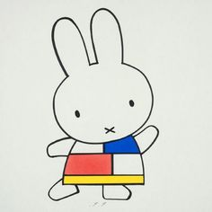 growing up with Miffy (or Nijntje in Dutch). Image Fashion, Vintage Ysl, Personal Identity, Miffy, Mondrian, Fashion Gallery, Rabbits, Netherlands, Illustrators
