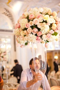 By Appointment Only Design - Wedding at The Savoy - Part 6 : Banqueting Room   Flowerona