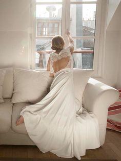 Robe de mariée dos nu Marion Kenezi - La Fiancée du Panda blog Mariage et Lifestyle