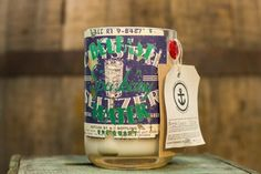 Born Again Candle by Anchor Candle Company, beautiful antique seltzer!