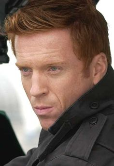 Damian Lewis, my newest and sweetest of baboos.  If you have not already, watch Homeland.  It is so good! He's a ginger to boot!