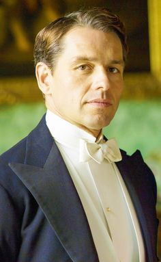 Charles Blake - Downton Abbey - I love that Mary ended up with Henry, but Blake was always my favourite over Tony and Evelyn... Mary needs someone to challenge her view on things!