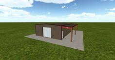 Cool 3D #marketing http://ift.tt/2u0M2EK #barn #workshop #greenhouse #garage #roofing #DIY
