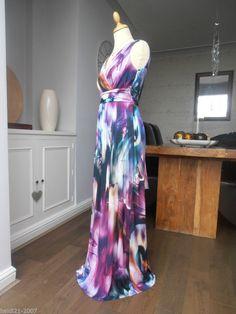 Monsoon olive maxi dress