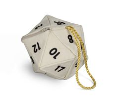 20 sided dice handbag. Buy this or suffer 20 hit points