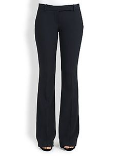 Alexander McQueen Low-Rise Flared Pants
