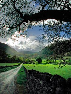 The Long Road (Cumbria, England) by Robert Louden