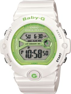 Add some color to your normal accessories routine with this great Baby-G watch.