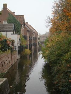 Zutphen, my place of birth... Parts of the old city walls are still visible today