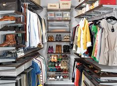 Closet (well I would say wardrobe!) perfection!
