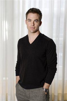 Chris Pine - Portrait Session on Wednesday, September 19, 2012 at Claridge in London.