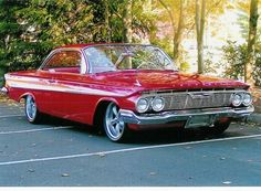 '61 Impala bubble top