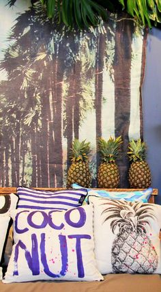 #tropical #decor #accesories #furniture #home #decorations #interior #design #ornaments #pillow #pillowcase #diybazaar #pinaple #prints More pictures on the website. Please click on picture to see! Thank you!