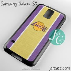 lakers Phone case for samsung galaxy S3/S4/S5