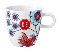 D.E Hylper cappuccinomok - multicolor #mok #mug #coffee #HylperHeritage #DouweEgberts