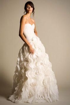 Oscar de la Renta Wedding Dress.