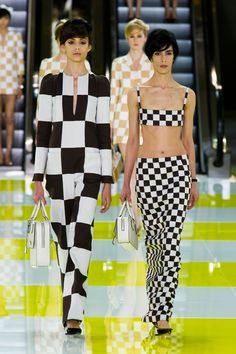 Black x white - Louis Vuitton | Paris | Verão 2013 RTW