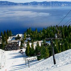 Homewood Lake Tahoe ...most beautiful spot for skiing AND romance!