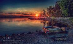 Spring sunset... by alekseimalygin #nature #travel #traveling #vacation #visiting #trip #holiday #tourism #tourist #photooftheday #amazing #picoftheday