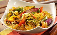 Cous cous caldo alle verdure: ricetta ed ingredienti