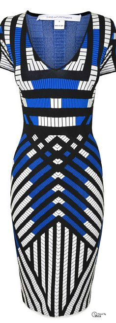 Diane Von Furstenberg bodycon dress find more women fashion ideas on… Mode Style, Style Me, Beautiful Outfits, Cute Outfits, Winter Typ, I Love Fashion, Fashion Ideas, Kaftan, African Fashion