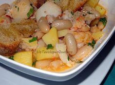 Un Tavolo per Quattro: Baccalà con patate e fagioli cannellini
