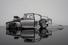 Amazing drag truck model.