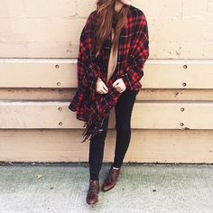 #plaid #romwe #scarf