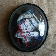 anatomy of my heart III by mikesajnoski on Etsy