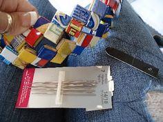 Wrapper purse instructions