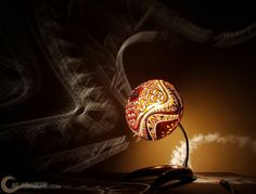 DIY LAMPEN SELBER machen lampe diy lampenschirme selber machen afrika 6