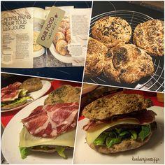 Petits #pains pour tous les jours #homemade #bread #brot #sourdough #levain #sauerteig #oatmeal