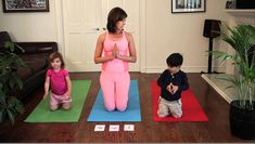 ransition from the terrible to the terrific with these 3 yoga poses for kids, as explained by Teresa Anne Power, multiple award winning author of The ABCs of Yoga for Kids. Mom And Baby Yoga, Yoga For Kids, Exercise For Kids, Preschool Yoga, Toddler Yoga, Montessori, Family Yoga, Childrens Yoga, Toddler Teacher