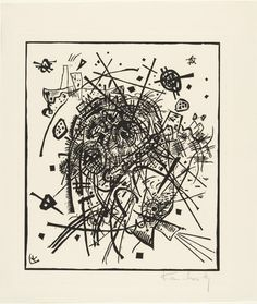 Vasily Kandinsky (French, born Russia. 1866–1944) Small Worlds VIII (Kleine Welten VIII) from Small Worlds (Kleine Welten) 1922, Woodcut from a portfolio of twelve prints, six lithographs (including two transferred from woodcuts), four drypoints, and two woodcuts