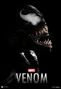 """You are watching the movie Venom on Putlocker HD. When Eddie Brock acquires the powers of a symbiote, he will have to release his alter-ego """"Venom"""" to save his life. Marvel Comics, Marvel Venom, Marvel Heroes, Mcu Marvel, Tom Hardy, Geeks, Venom Character, Character Art, Deadpool"""