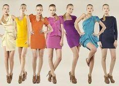 El significado de los colores para vestir