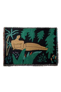 Jungle Blanket via bfgfshop. Click on the image to see more!