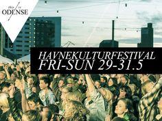 Odense Havnekulturfestival 2015. Havnekulturfestivalen i slutningen af maj - alt fra kunst, musik, teater, events og rendyrket lykke. Læs anbefalingen på: http://www.thisisodense.dk/da/18414/odense-havnekulturfestival-2015