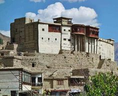 800 years old baltit Fort upper hunza valley northern Pakistan