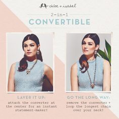 Layer it up or go the long way!  Love the colors in this collection!  Shop my online boutique - chloeandisabel.com/boutique/kellycraig  Always FREE Shipping on order of $100 or more.