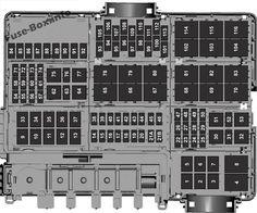 Under-hood fuse box diagram: Ford F-150 (2018, 2019 ...