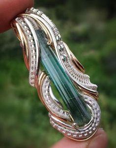 ©CD Davis #wirewrap #jewelry #wirewrapjewelry