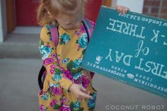 photoshopped first day of school sign
