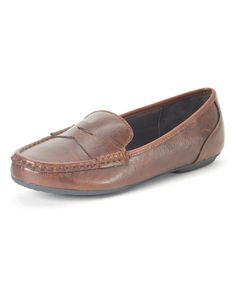 Look at this Coffee Giverny Loafer on #zulily today!