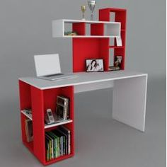 Buying Very Cheap Office Furniture Correctly Study Table Designs, Office Table Design, Home Office Design, Home Office Decor, Home Decor, Bureau Design, Home Office Furniture, Furniture Design, Bookshelf Desk