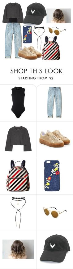 """""""Back to School"""" by mihaelamarula on Polyvore featuring Yeezy by Kanye West, Hollister Co., Puma, Tommy Hilfiger and Nasty Gal"""