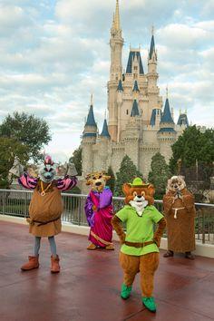 The Robin Hood Cast!