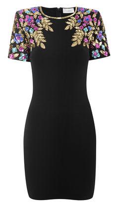 Ramona embellished dress
