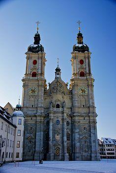 'Kathedrale von St.Gallen Schweiz (Unesco Welt Kultur Erbe),' St. Gallen Cathedral, Switzerland